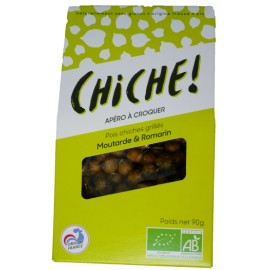Pois Chiches Grillés - Moutarde et Romarin 3x90g